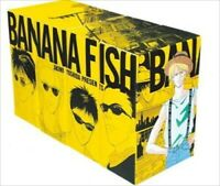 Japanese Language BANANA FISH Akimi Yoshida Reprinted BOX VOL 1-4 Complete Set