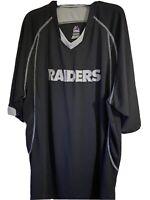 Majestic Cool Base Oakland Raiders T-Shirt Size Men's 2XL