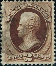 #146 1870 2c NATIONAL BANK NOTE ISSUE USED--VF LITE CANCEL