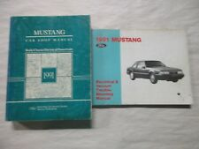 Repair Manuals Literature For 1991 Ford Mustang Ebay