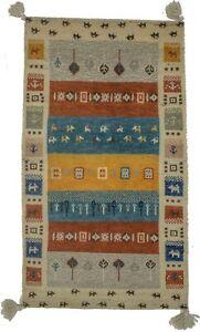 Tribal Style Contemporary 2X4 Plush Gabbeh Modern Oriental Rug Decor Kids Carpet