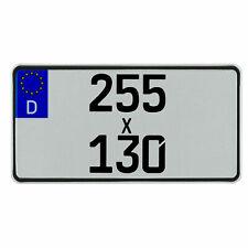 Leichtkraftrad-Eurokennzeichen 255 x 130 mm für 125cm³ (§5a)