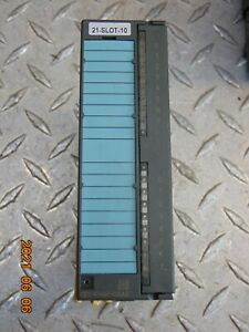SIEMENS 6ES7 321-1FH00-0AA0 SIMATIC S7 OUTPUT MODULE *FREE SHIPPING*