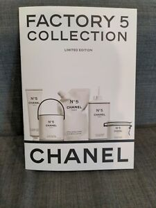 CHANEL FACTORY NO.5 COLLECTION Limited Edition Manual, Coloring Book, Catalog