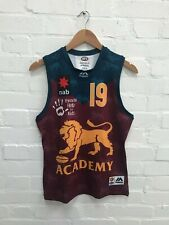 Brisbane Lions Majestic Aussie Rules AFL Women's Jersey - Size 10 - 19 - New