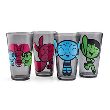 Power Puff Girls 4 Pack Set Pint Glass
