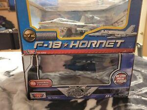 1:72 motor max f-18 hornet 1:60 p-38 lightning  Lockheed Martin diecast plastic