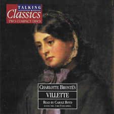 Charlotte Bronte - VILLETTE - CD Audio Book - Talking Classics