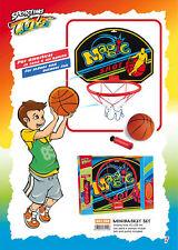 Minibasket pallone pompetta canestro 41x29 Sport one norme CEE mini basket palla