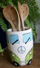 Camper Van Utensil Holder-Green