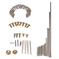 1 Set Saxophone Screws Flat Springs for Alto Tenor Soprano Sax Accessory