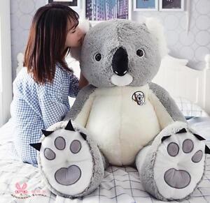 Australia  Koala Soft Toy Giant Hung Big Cotton Plush Doll Stuffed Animal Gift A