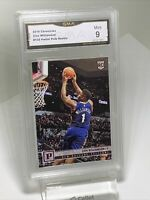 """GMA Graded Mint 9: 2019 Zion Williamson """"PINK"""" ROOKIE RC Chronicles #120"""