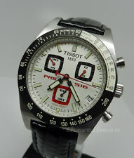 Mens Authentic Swiss Made Tissot PRS 516 Chronograph White Date Dial Watch