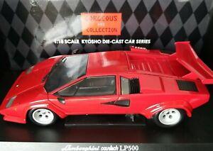 KYOSHO 1:18 Lamborghini COUNTACH LP500  Red