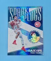 Trae Young 2019-20 Panini NBA Hoops SPARK PLUGS Silver Refractor Atlanta Hawks📈