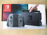 Brand new Nintendo Switch - 32GB Gray Console (with Gray Joy-Con)