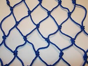 Heavy Duty Net 70x70 4mm Twisted Cord Safety Cover Pool Pond Protector Cargo
