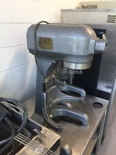 Hobart 20 Qt. Commercial Dough Mixer w/ Hook, Paddle + Stainless Bowl - # A-200