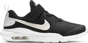 Nike Air Max Oketo ( V ) Mesh Children Kids Running Trainers Shoes Black / White