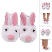 Rabbit Slipper Shoes 18 Inch Our Generation American Girl Doll
