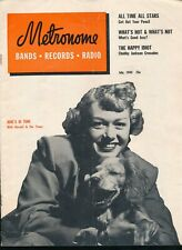 METRONOME July 1949 Jazz Magazine JUNE CHRISTY Cover HERSELF