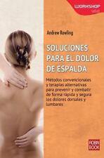 SOLUCIONES PARA EL DOLOR DE ESPALDA - NEW BOOK