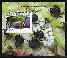 NIGER 2020  PARASITIC INSECTS  SOUVENIR SHEET MINT NH