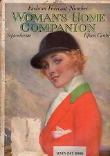 1916 Womans Home Companion September - Billie Burke, Toledo Art Museum;Dogs,Cats