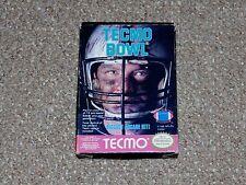 Tecmo Bowl Nintendo NES Complete in Box