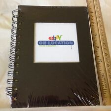 eBay On Location Black 5x7 Spiral Blank Journal Notepad Ebayana NEW USA Made