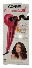 New Conair Fashion Curl Curling Iron- Pink. 2 Temp heat Settings  Model CD213R