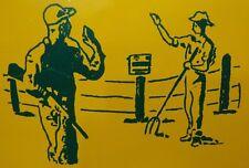 Vtg FISH & WILDLIFE Mgmt Act SAFETY ZONE NO TRESPASSING Sign NYS Hunter Farmer