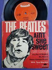 "AUSTRALIA Beatles John Lennon Tony Sheridan 7"" vinyl EP Ain't she sweet Polydor"