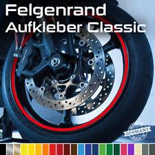 Felgenrand Aufkleber Deko Zierstreifen Aufkleber 7mm breit 6m Neongrün 1-54