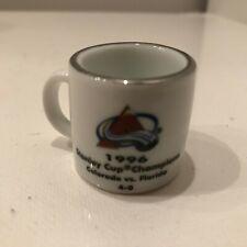 NHL Cup Crazy Mini Mug Colorado Avalanche Stanley Cup Champions '96