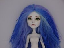 Ooak Monster High Doll - Passion by Vamps-n-Vixens Doll - Blue hair Spectra doll