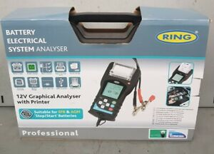 RBAG700 Analyzer Tester Digital With Printer For Battery 12V Car Motorbike