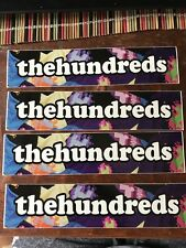 Original THE HUNDREDS Stickers (Before They Had A Logo!) New!!