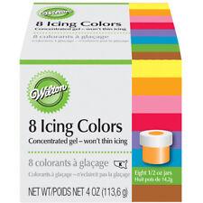 Wilton 8 Icing Colors Set, 1/2 oz. jars - 601-5577