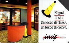36-Scheda telefonica negozi insip scadenza 30/06/1996 lire 5.000