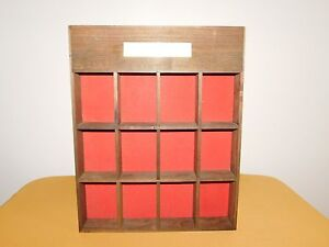 VINTAGE WILLIAMSVILLE SOCIETY AMERICAN REVOLUTIONARY COLLECTION WALL DISPLAY BOX