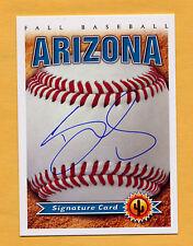 2014 Arizona Fall League AUTO card DARNELL SWEENEY L.A. Dodgers