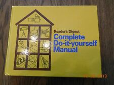 Complete Do-It-Yourself Manual by Reader's Digest Editors (1989, Hardcover)