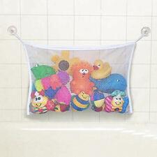 Kids Baby Bath Toy Tidy Storage Suction Bag Mesh Bathroom Organiser. UK Supplier