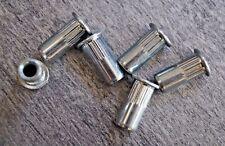 50 x Gewindenieten M8 Stahl ab 0,5 mm Blindnietmutter Gewindeniete Nietmuttern