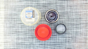 Carl Zeiss W Germany Super Dynarex 135/4 Icarex (35) Mount w/ Orig Plastic Case