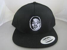 Chance The Rapper Rap Hip Hop Embroidered Black Snapback Hat Cap Lid