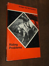 Riding Problems by Gregor de Romaszkan 1968 HC/DJ