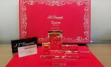 Limited Edition S.T. Dupont Teatro Red Lacquer Five Piece Collector Set #98/250